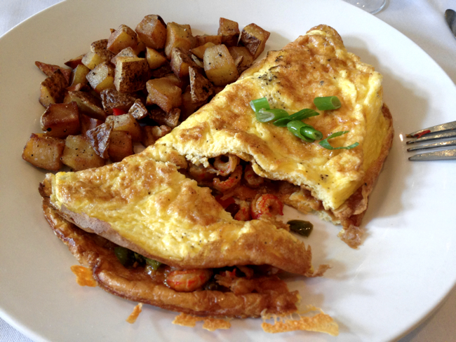 crawfish omelet apolline koskie